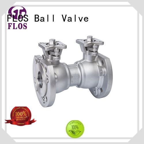 FLOS valveflanged flanged gate valve wholesale for closing piping flow