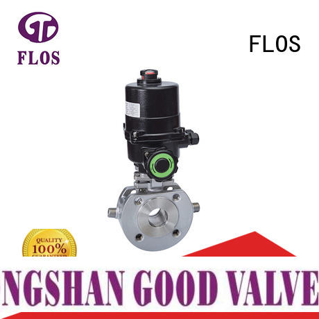 FLOS pneumaticmanual valve company wholesale for opening piping flow