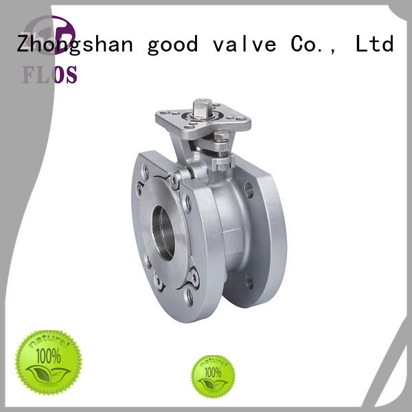 FLOS experienced 1-piece ball valve manufacturer for closing piping flow