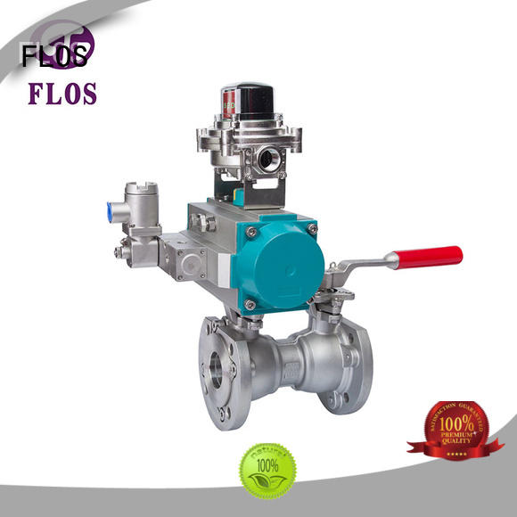 high quality uni-body ball valve pneumaticelectric supplier for closing piping flow