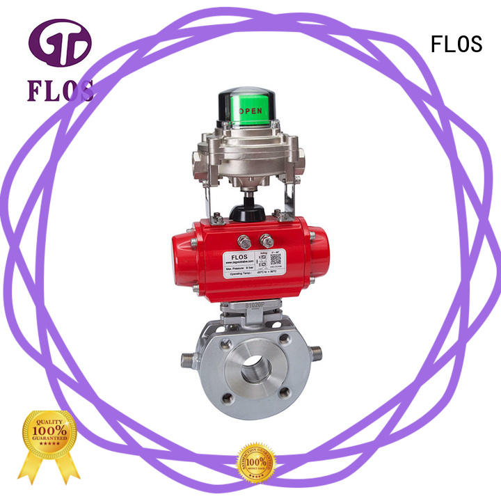 FLOS stainless 1 piece ball valve Suppliers for closing piping flow