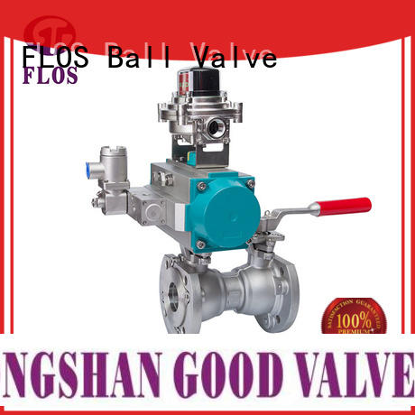 FLOS high quality 1-piece ball valve manufacturer for opening piping flow