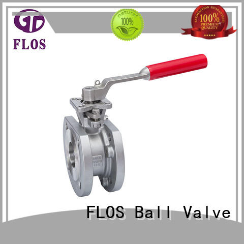 FLOS openclose uni-body ball valve wholesale for closing piping flow