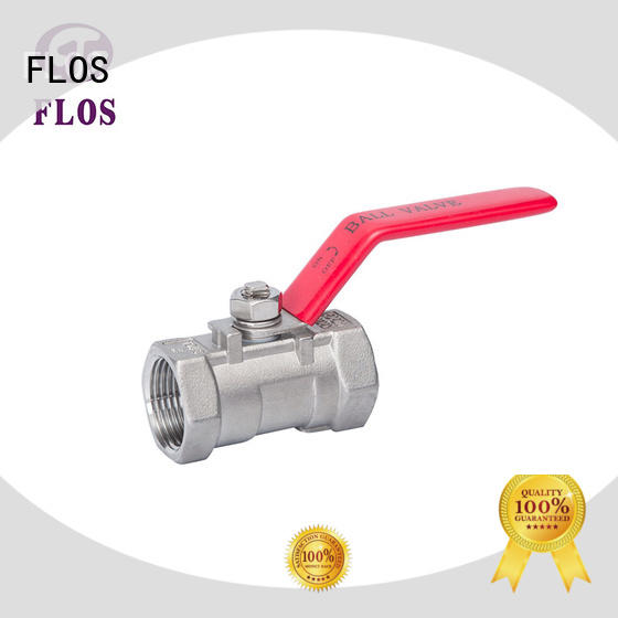 FLOS steel valves wholesale for opening piping flow