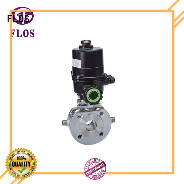 FLOS experienced ball valve manufacturer for closing piping flow