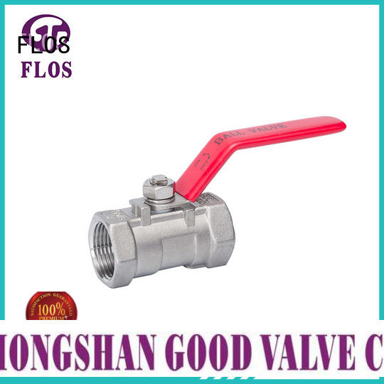 professional 1-piece ball valve threaded wholesale for closing piping flow