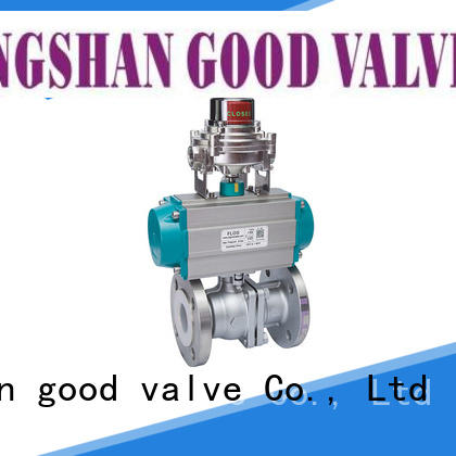 professional stainless steel ball valve pneumatic supplier for opening piping flow