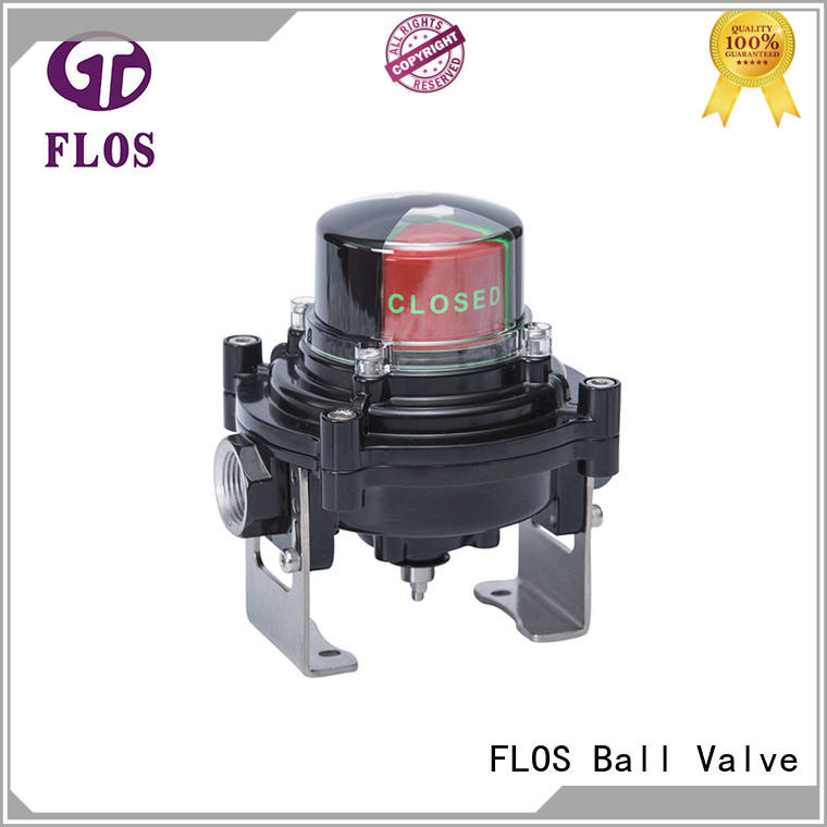 FLOS aluminium ball valve switch wholesale for closing piping flow