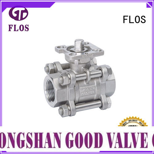 FLOS professional stainless valve wholesale for opening piping flow