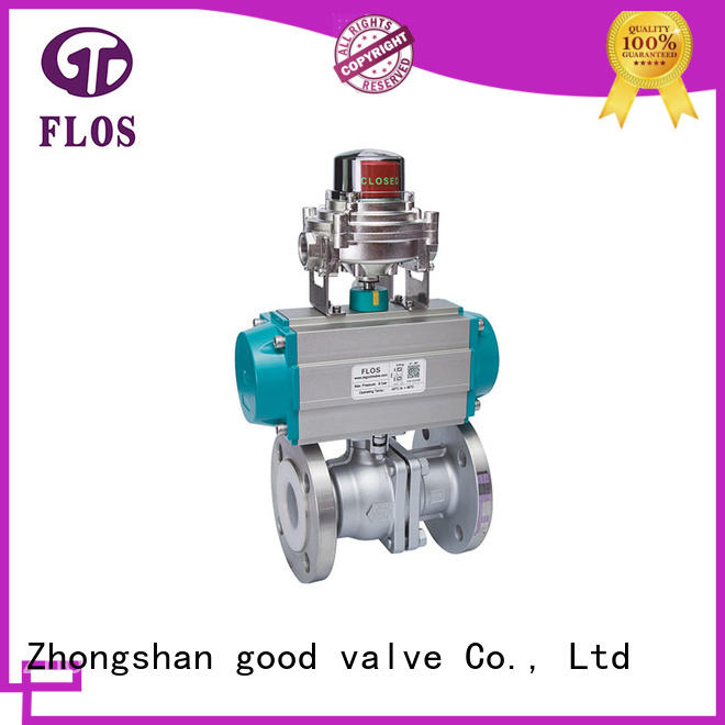 FLOS safety 2 piece stainless steel ball valve supplier for directing flow