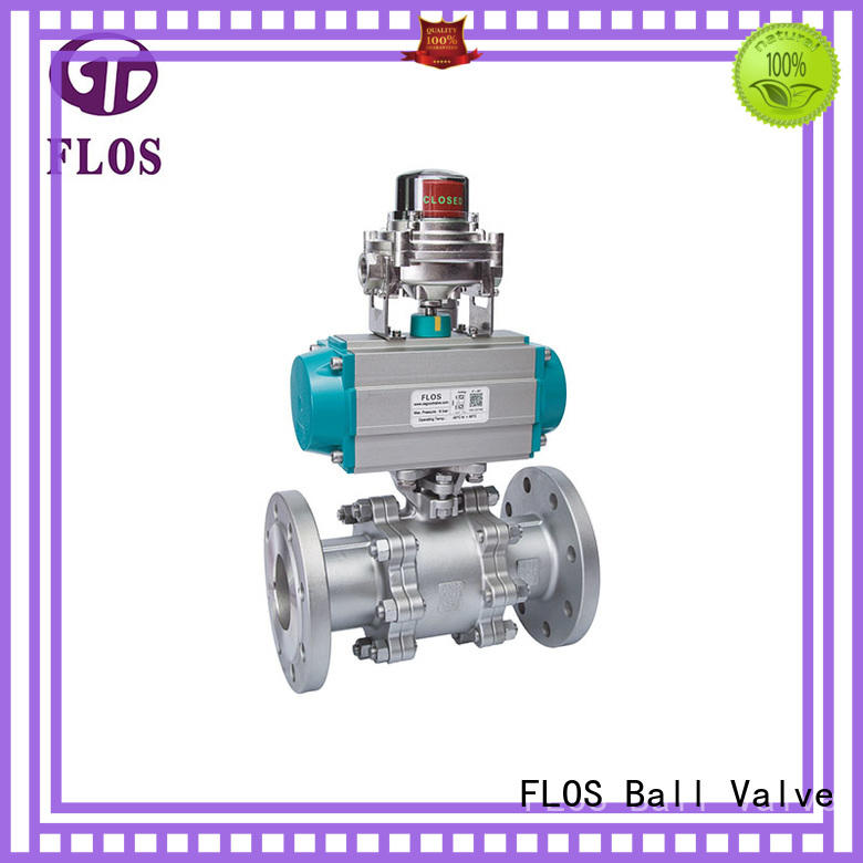 FLOS flanged stainless valve Suppliers for opening piping flow