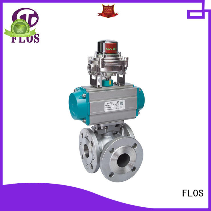 three way ball valve suppliers ball for directing flow FLOS