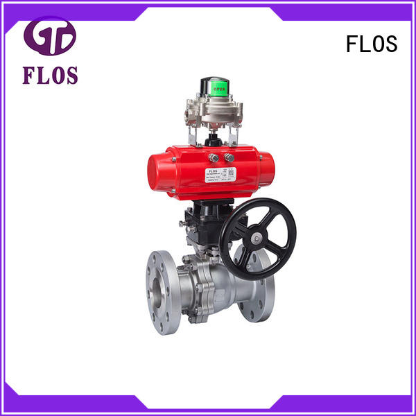 FLOS manual threaded ball valve wholesale for opening piping flow