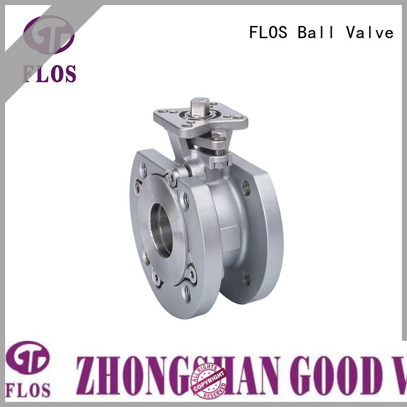 FLOS pneumaticmanual uni-body ball valve company for directing flow