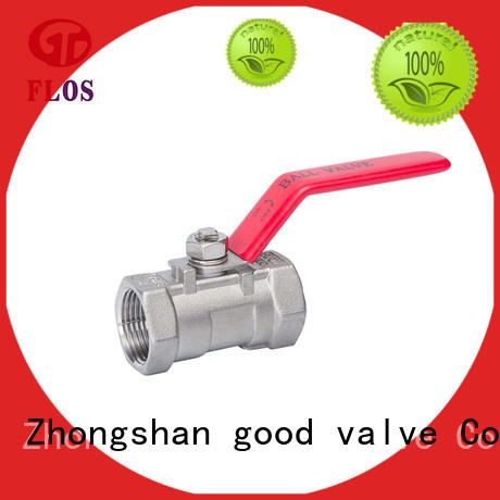 FLOS pneumatic one piece ball valve company for opening piping flow
