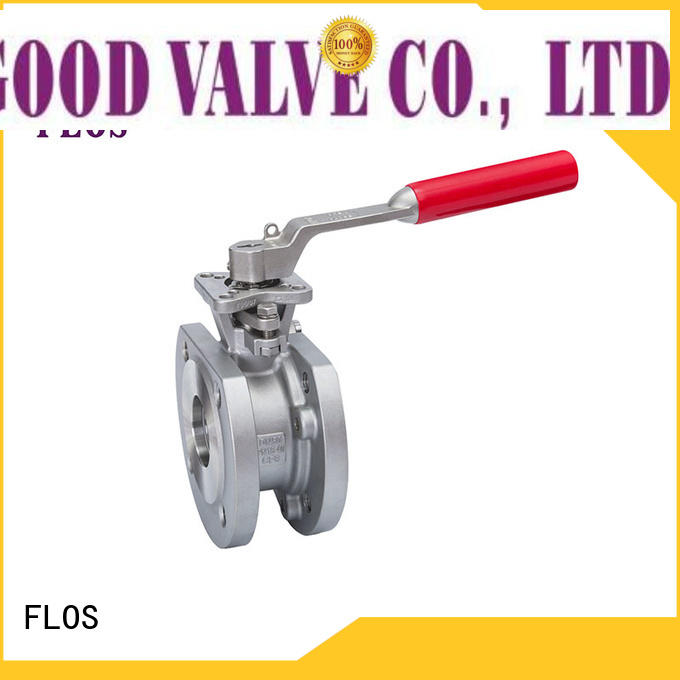 FLOS valveopenclose flanged gate valve supplier for closing piping flow