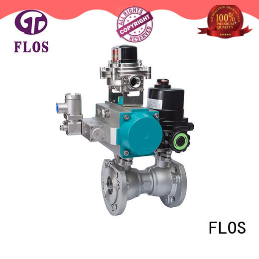 FLOS one one piece ball valve factory for opening piping flow