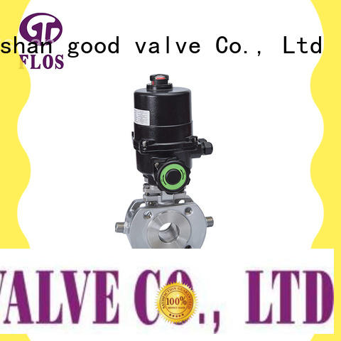 FLOS openclose uni-body ball valve manufacturer for directing flow