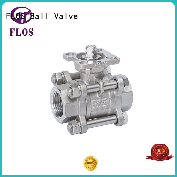 durable 3-piece ball valve openclose wholesale for directing flow