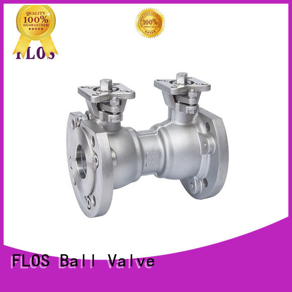 FLOS manual flanged gate valve supplier for closing piping flow