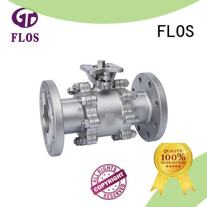 FLOS ball stainless valve manufacturer for directing flow