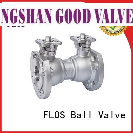 FLOS ends uni-body ball valve supplier for closing piping flow