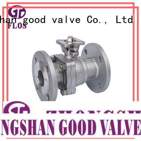 FLOS experienced 2 piece stainless steel ball valve wholesale for directing flow