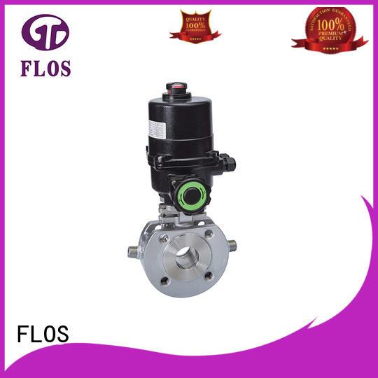 FLOS valveflanged ball valve manufacturer for directing flow