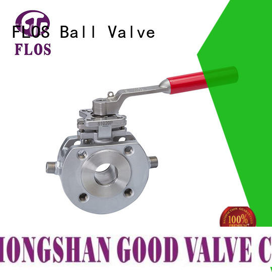 New one piece ball valve ends Suppliers for opening piping flow