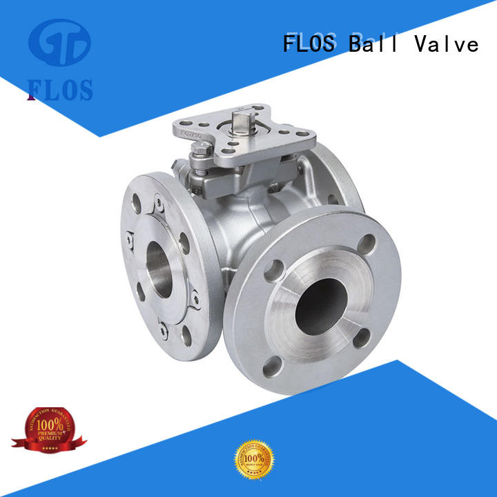 FLOS experienced three way ball valve manufacturer for directing flow