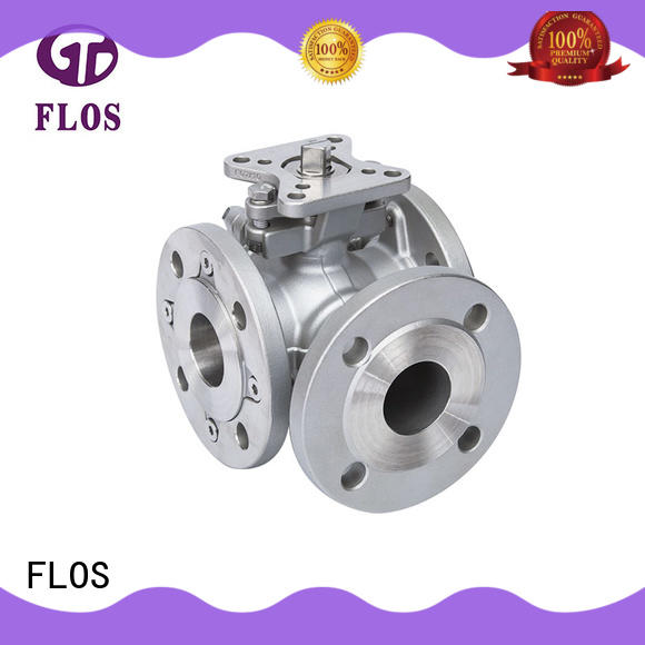 FLOS way 3 way valve supplier for closing piping flow