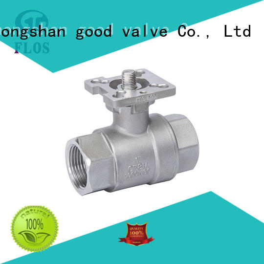 FLOS professional stainless ball valve supplier for opening piping flow