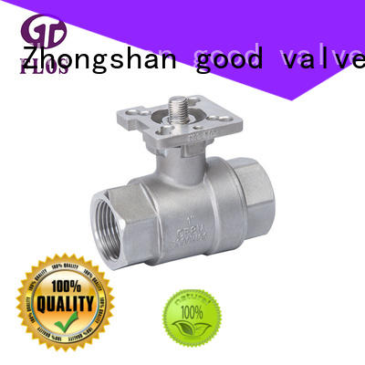 high quality stainless ball valve ends wholesale for closing piping flow