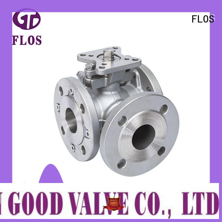 FLOS switch flanged end ball valve supplier for directing flow