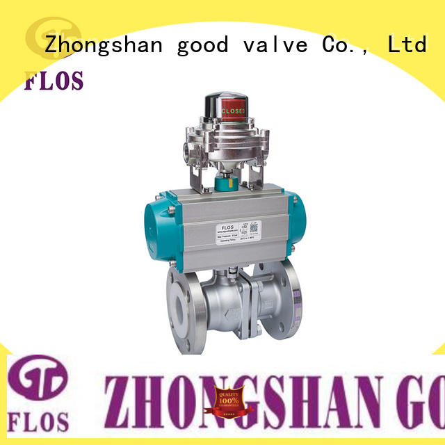 FLOS switch 2 piece stainless steel ball valve manufacturer for opening piping flow
