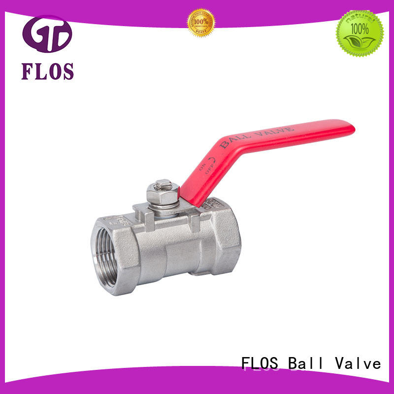 FLOS pneumatic ball valve manufacturer for opening piping flow