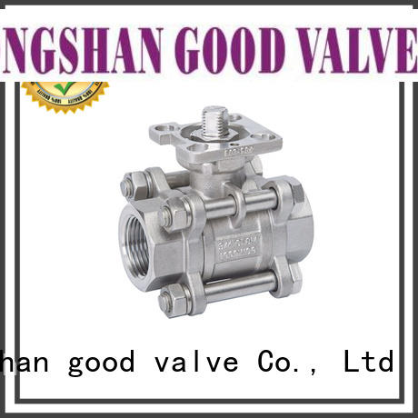 FLOS professional 3 piece stainless steel ball valve wholesale for directing flow