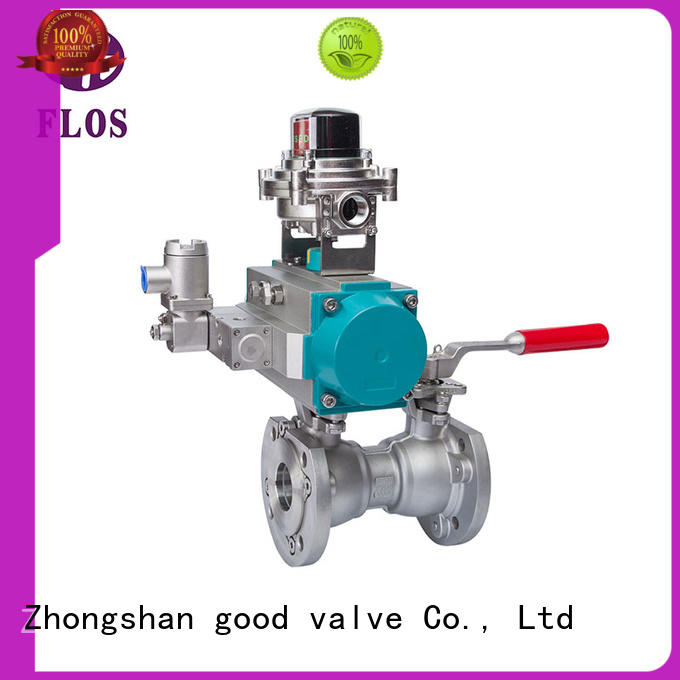FLOS switch single piece ball valve manufacturer for directing flow