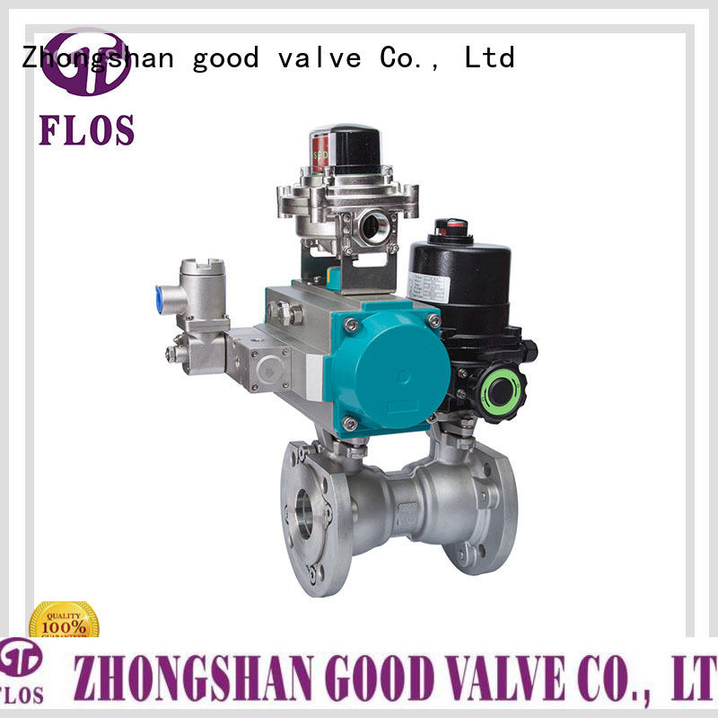 FLOS durable flanged gate valve wholesale for closing piping flow