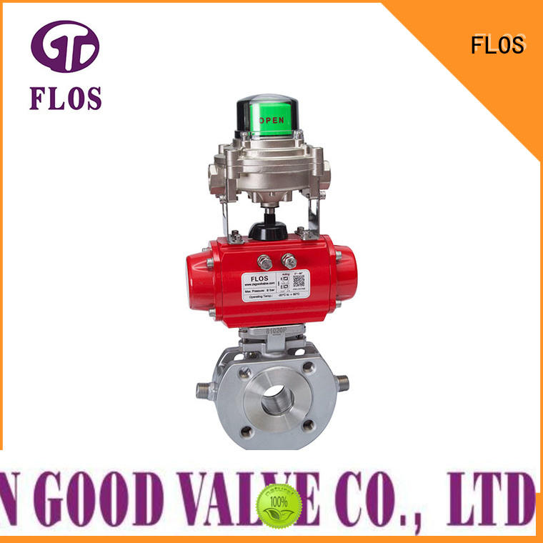 FLOS high quality uni-body ball valve wholesale for opening piping flow