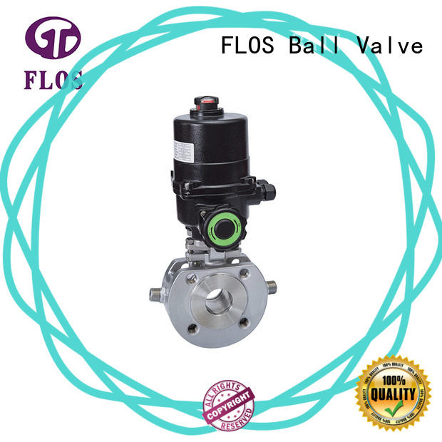 FLOS pneumaticmanual 1 pc ball valve wholesale for directing flow