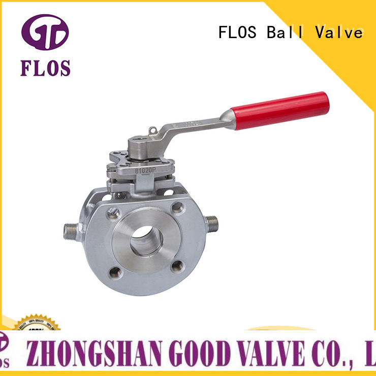 FLOS Custom single piece ball valve manufacturers for opening piping flow