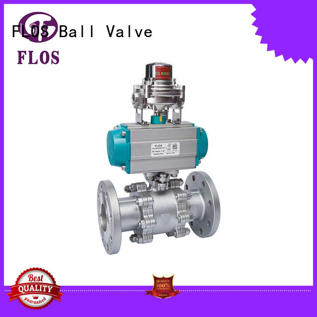 position 2 inch flanged ball valve wholesale for directing flow FLOS