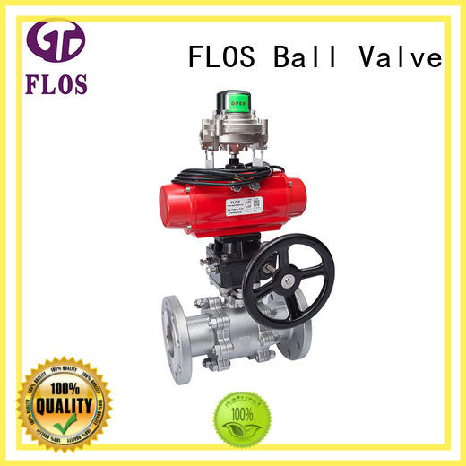 FLOS switch 3 piece stainless ball valve wholesale for opening piping flow