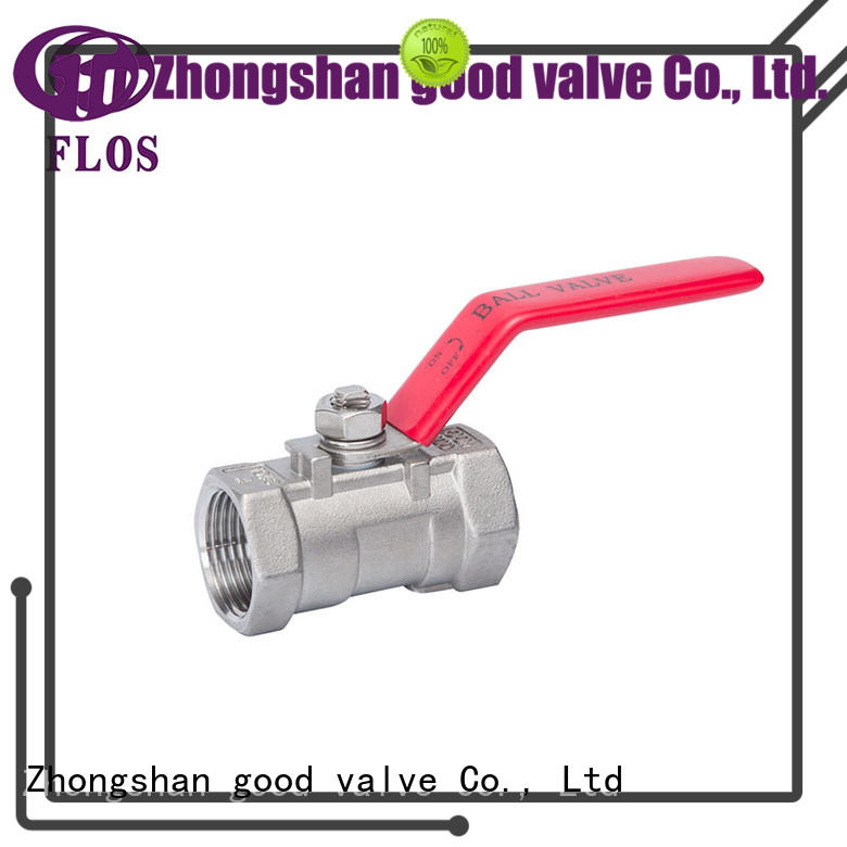 FLOS safety 1 pc ball valve heat for directing flow
