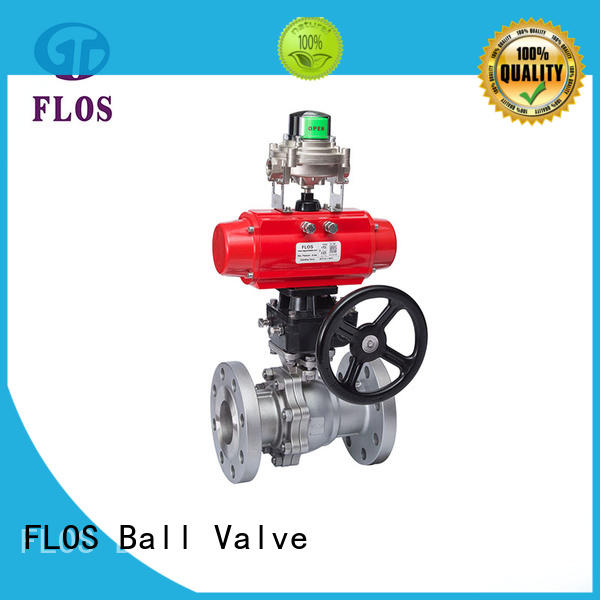 FLOS safety two piece ball valve manufacturer for directing flow
