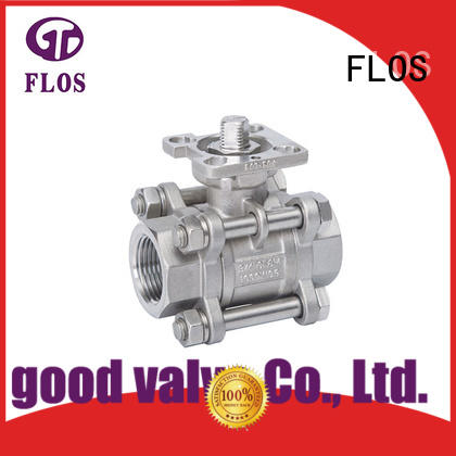 3 pc high-platform ball valve,threaded ends