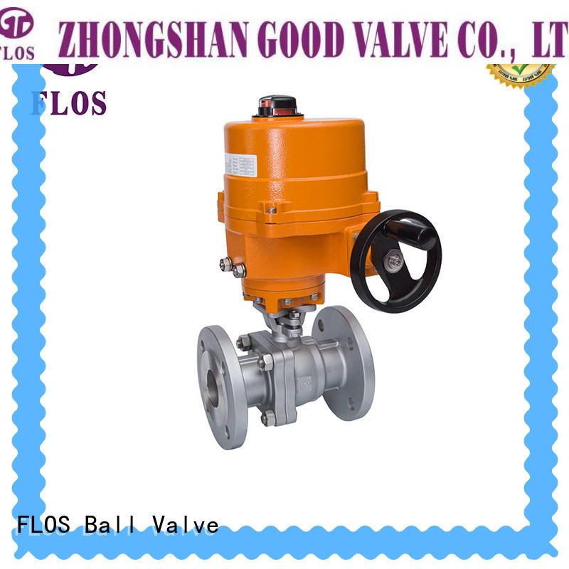 FLOS Best stainless steel valve Supply for opening piping flow