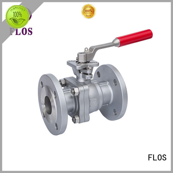 FLOS high quality stainless ball valve supplier for closing piping flow