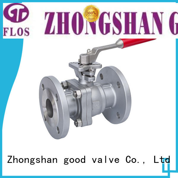 FLOS pc stainless steel ball valve wholesale for opening piping flow
